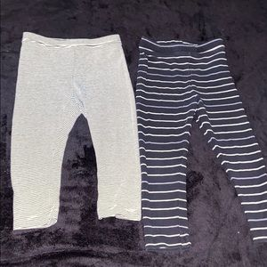 Old Navy baby leggings size 18-24 months 2T pair